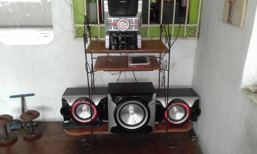 Equipo de sonido samsung giga sound blast mx e851