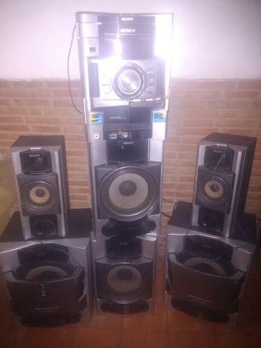 Equipo de sonido sony mhc-gtx88