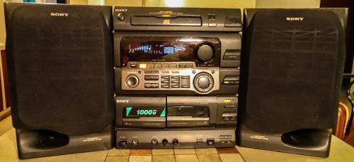 Equipo de sonido sony. modelo: hcd-h801