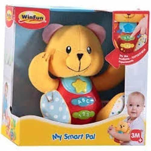 Osito interactivo sonidos y luces juguete bebes
