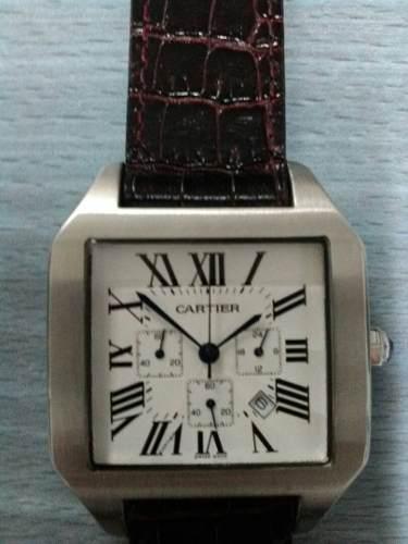 Reloj cartier santos caballero