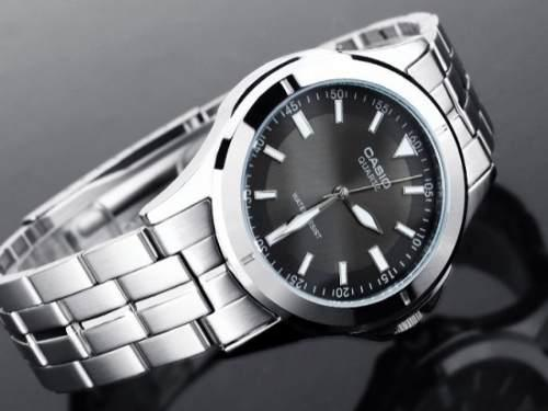 Reloj casio original acero nuevo caballero mtp-1214a-8avdf