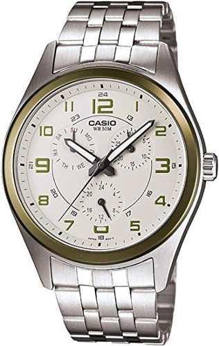Reloj casio original militar acero nuevo mtp 1352d-8b2vdf