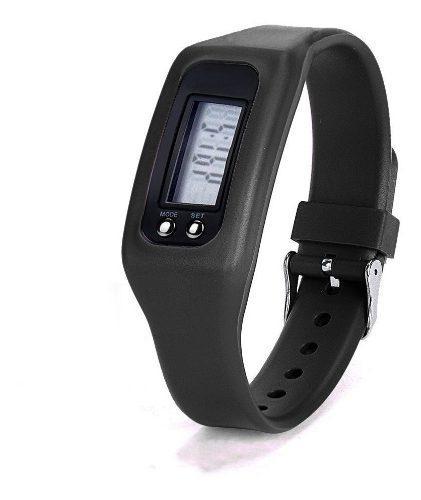 Reloj digital podómetro deportivo cuenta paso calorias