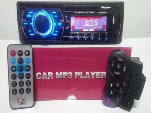 Reproductor bluetooth pioneer carro mp3 usb radio.45vrdes
