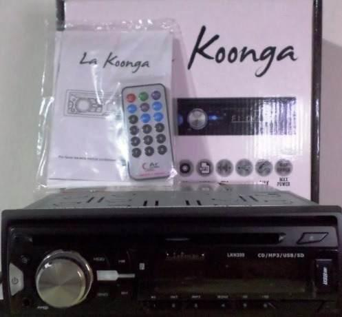 Reproductor de carro la konga lkn 200 cd mp3 radio usb