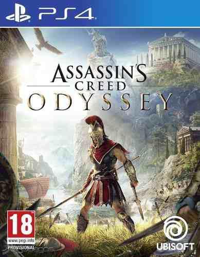 Juegos ps4 original assassins creed odyssey (nuevo)