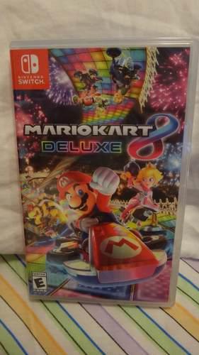 Nintendo swicth mario kart deluxe 8 nuevo y sellado