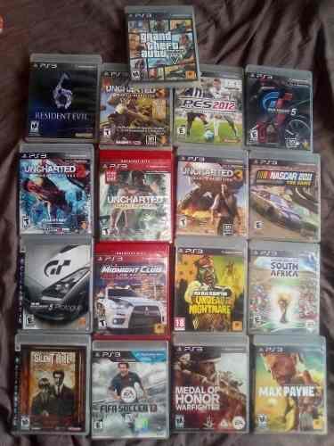 Playstation 3 500gb con 17juegos