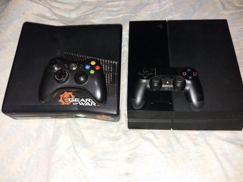 Ps4 500 gb y xbox 360 320 gb