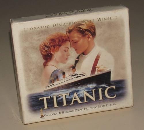 Titanic edicion limitada vhs + edicion especial