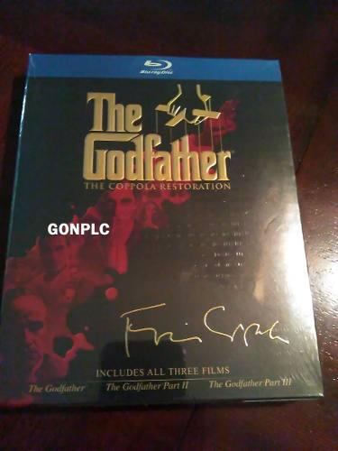 Trilogia blue ray el padrino the godfather editada director