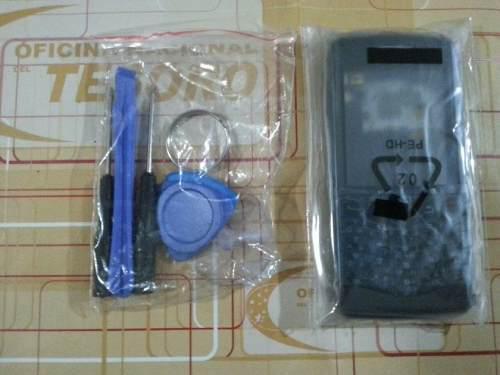 Carcasa nueva para blackberry pearl 9100 + accesorios