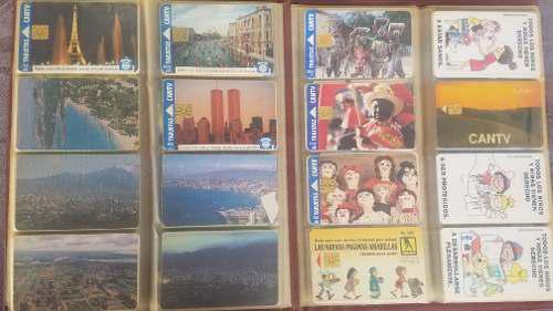 Coleccion de tarjetas telefónicas cantv