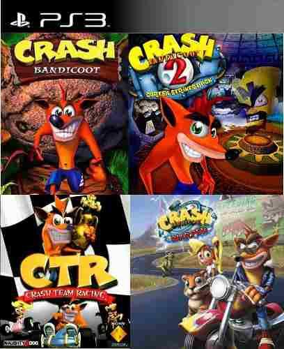 Combo crash ps3 digital