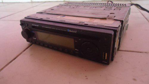 Reproductor cd usb con lector de sd tapa removible