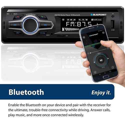 Reproductor de carro con bluetooth mp3 usb radio control app