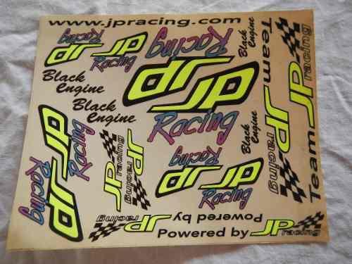 Calcomania jp racing