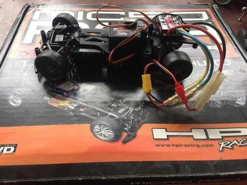 Carros rc nitro metano y a baterías muchos accesorios