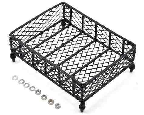 Crawler scale metal mesh roof rack luggage tray (13x10x3.5cm