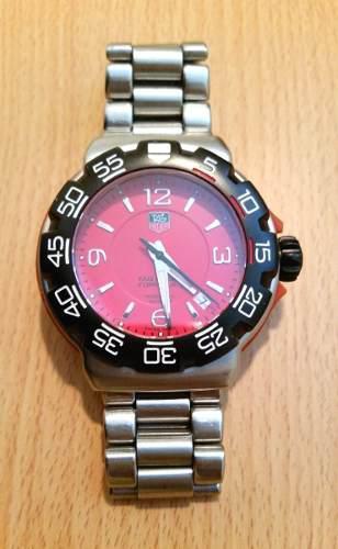 Reloj tag heuer formula 1 kimi reikkonen original.