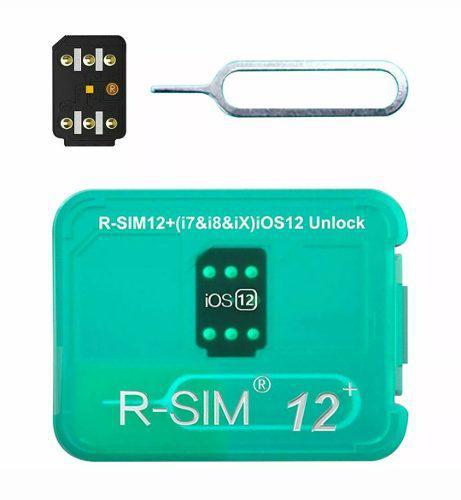 Rsim 12 plus + sim nano desbloquear liberar iphone x 8 7 6 5