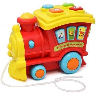 Tren musical educativo de bebe (+ pilas nuevas)