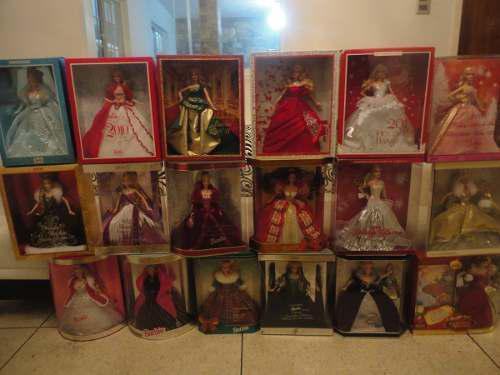 Barbie de colección nuevas navidad!!!