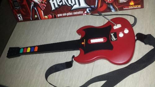 Guitarra para playstation 2 + 4 juegos
