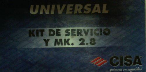 Kit de servicio mk 2.8 cerrajeria