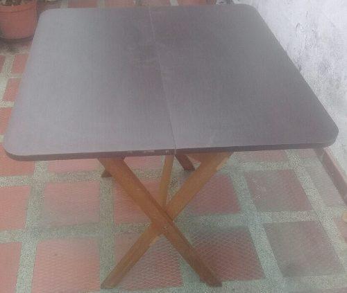 Mesa plegable para jardin