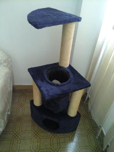 Arbol casa para gatos