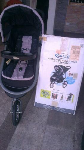 Coche graco original 3 ruedas fataction fold jogger click