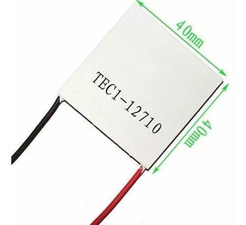 Enfriador cooler termoeléctrico celda de peltier tec1-12710