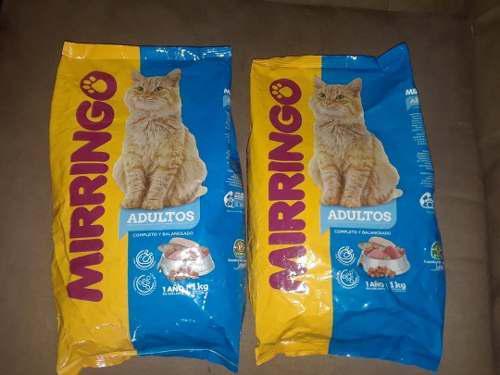 Gatarina o comida para gatos mirringo (1kg)