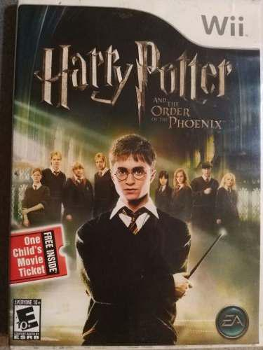Juego harry potter and the order of the phoenix wii original
