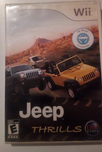 Juego para wii jeep thrills