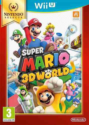 Juego super mario 3d world nintendo wii u