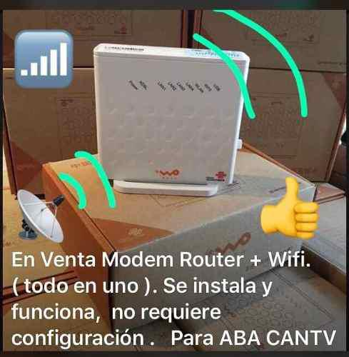 Modem + wifi listo de instalar