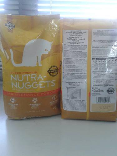 Nutra nuggets maintenance for cats