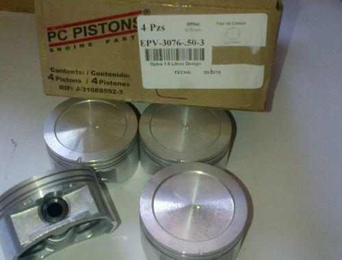 Pistones optra design std 020 030 040