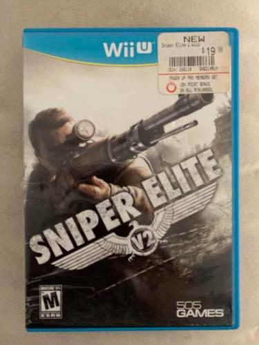 Sniper elite v2 para wiiu