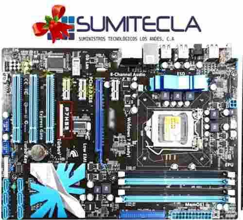 Tarjeta madre asus p7h55 ddr3 y procesador core i7 1156