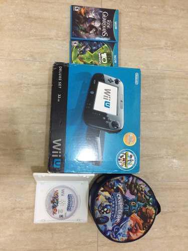 Wii u (32g) 10 juegos digitales + 3 juegos fisicos