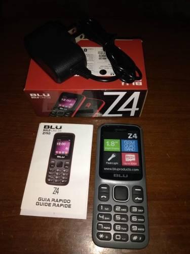 Blu z4, equipo basico, dual sim liberado (30) somos tienda