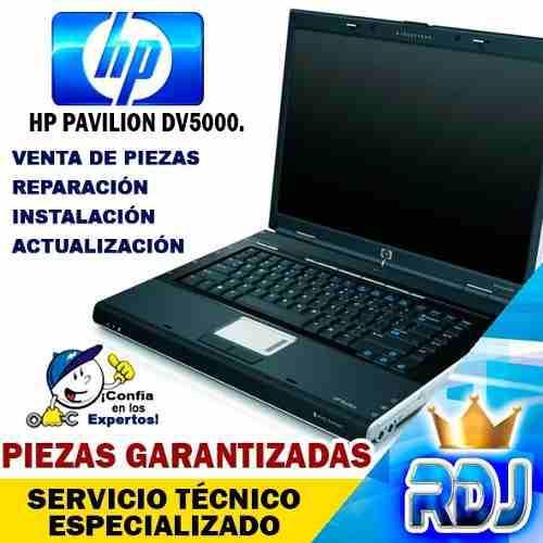 Laptop hp pavilion dv5000 (instalación, reparación y