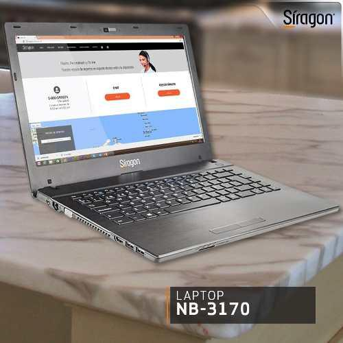 Laptop siragon nb-3170. nueva.