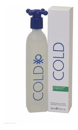 Perfume cold of benetton caballero 100ml original 100%