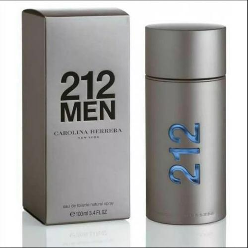 Perfume perfumes 212 men carolina herrera 100ml de caballero