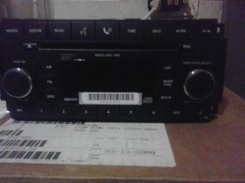 Radio reproductor grand cherokee comander y sebring (08-10)